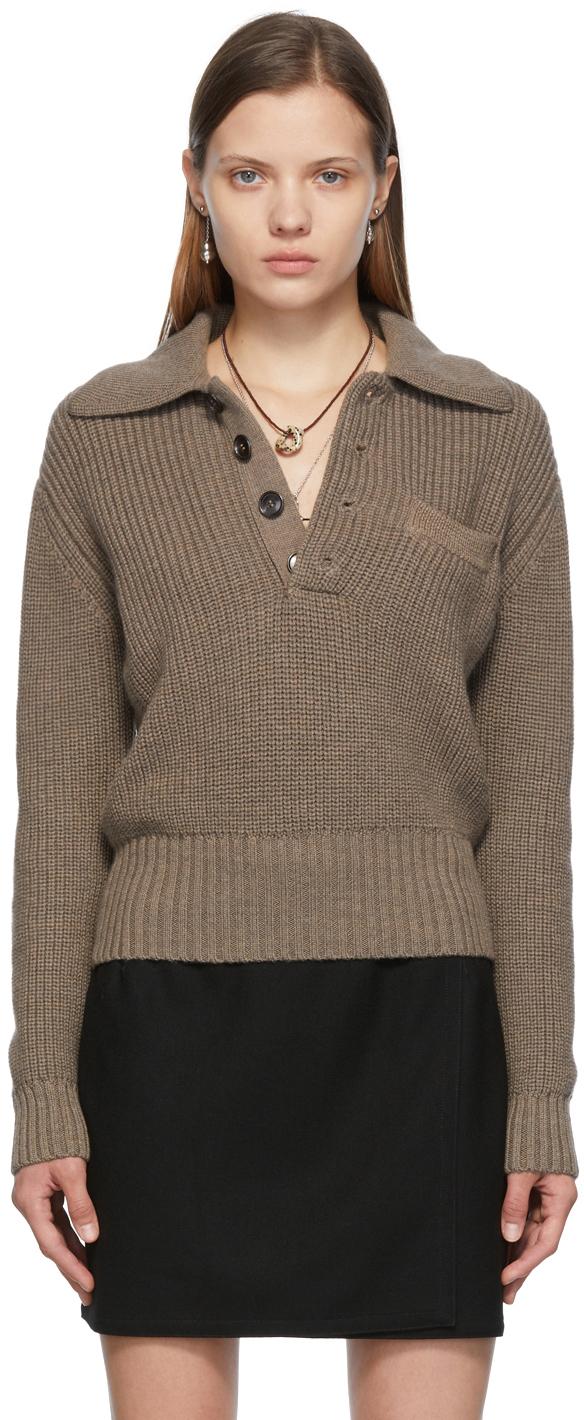 SSENSE Exclusive Taupe Una Sweater
