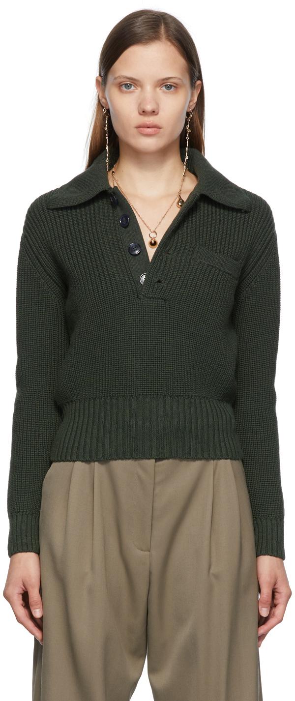 SSENSE Exclusive Green Una Sweater