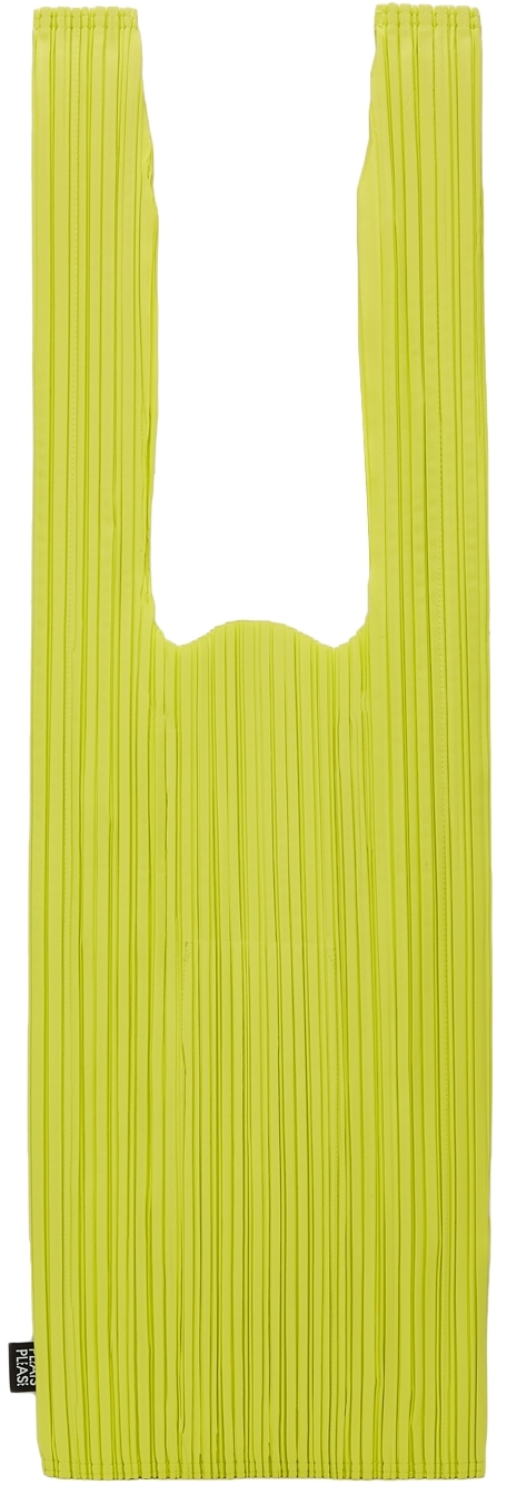 Green Daily Pleats Tote