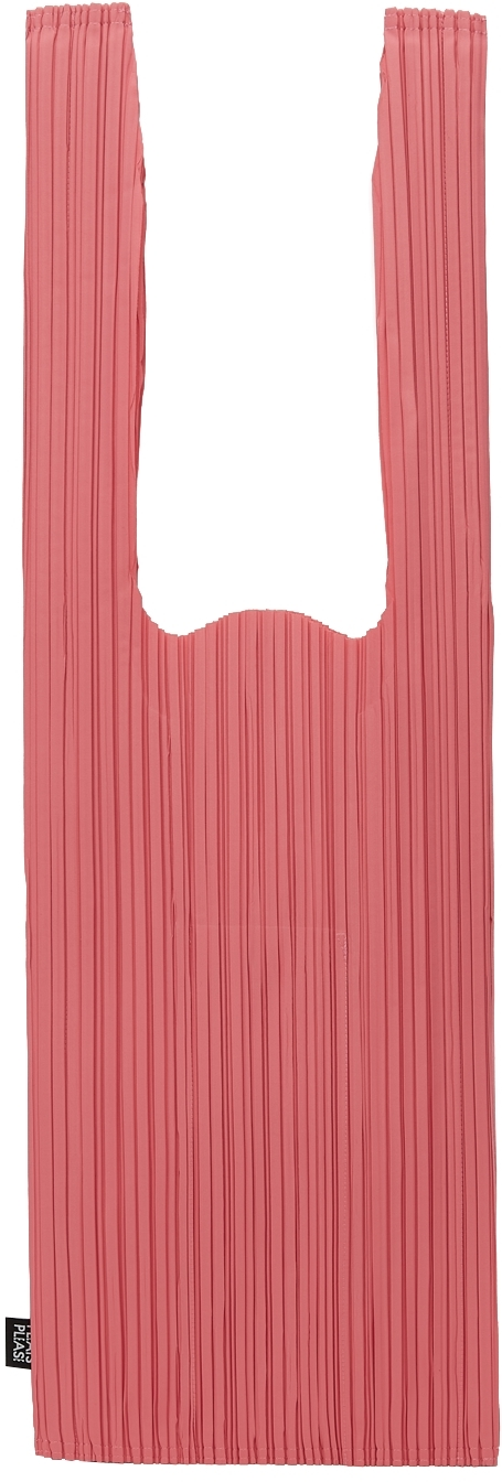 Pink Daily Pleats Tote