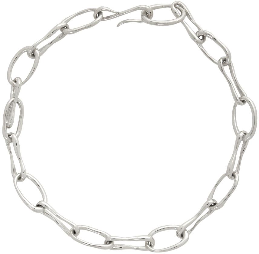 Sophie Buhai 银色 Roman Chain 项链