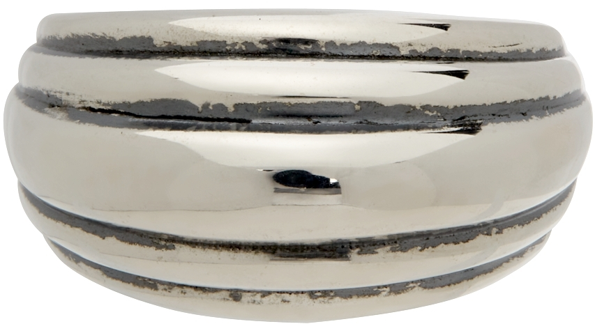 Silver Blondeau Pinky Ring