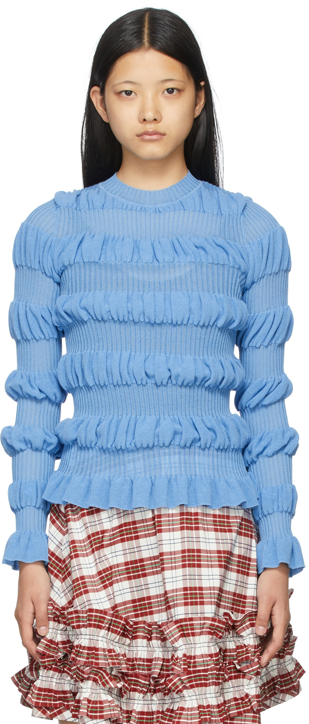 Blue Gigi Sweater
