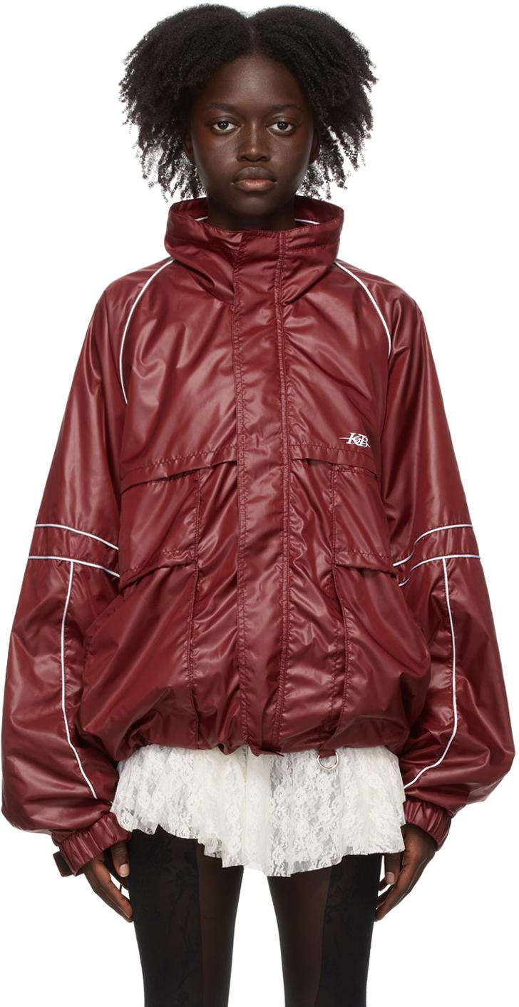 Red Training Jacket