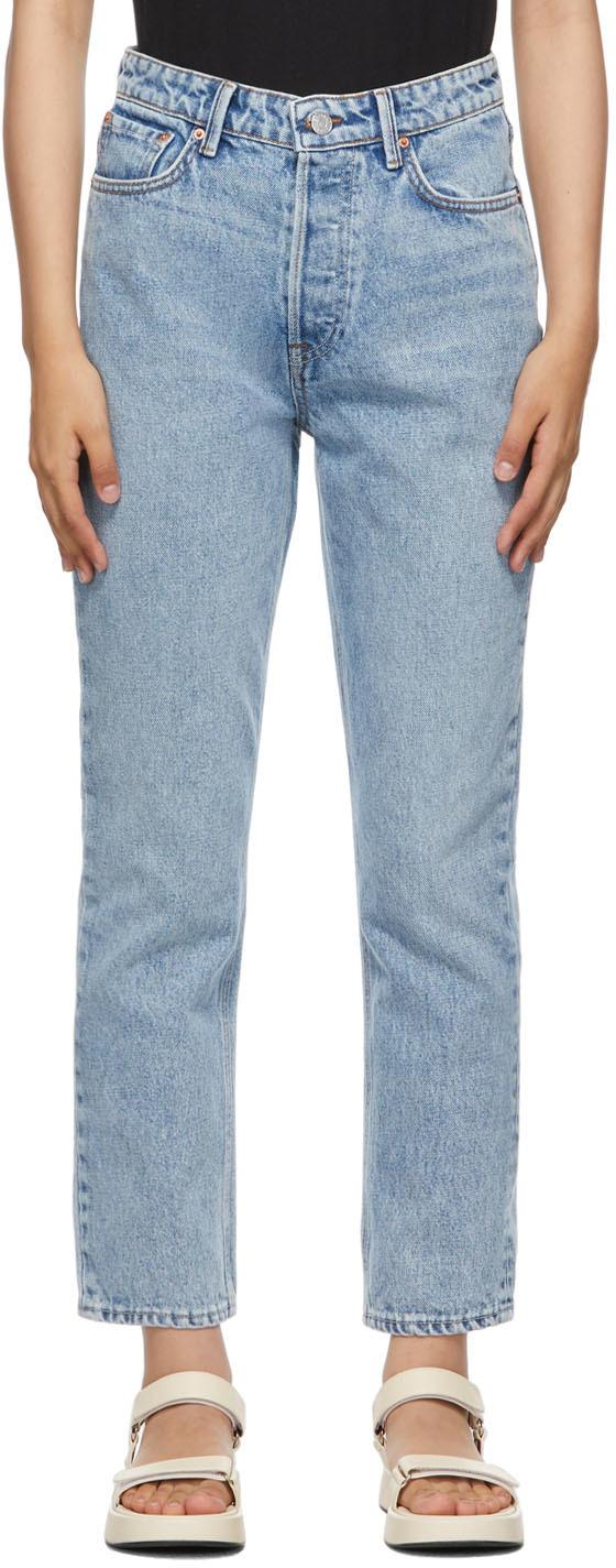 Blue Karolina High-Rise Jeans