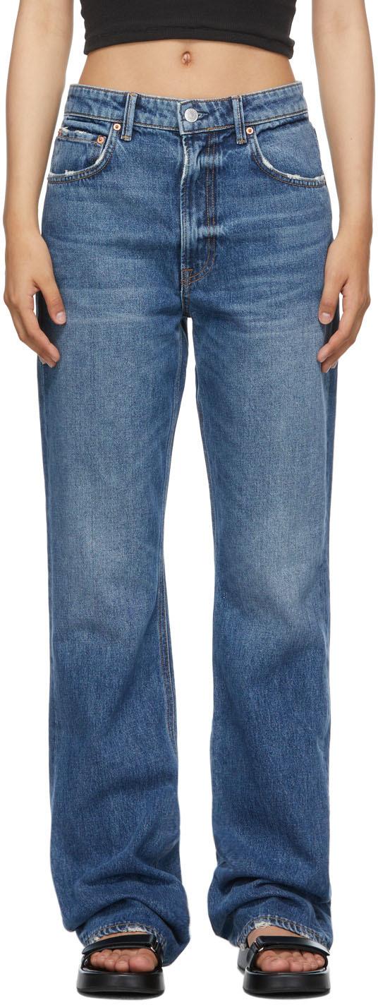 Blue Melanie Bootcut Jeans