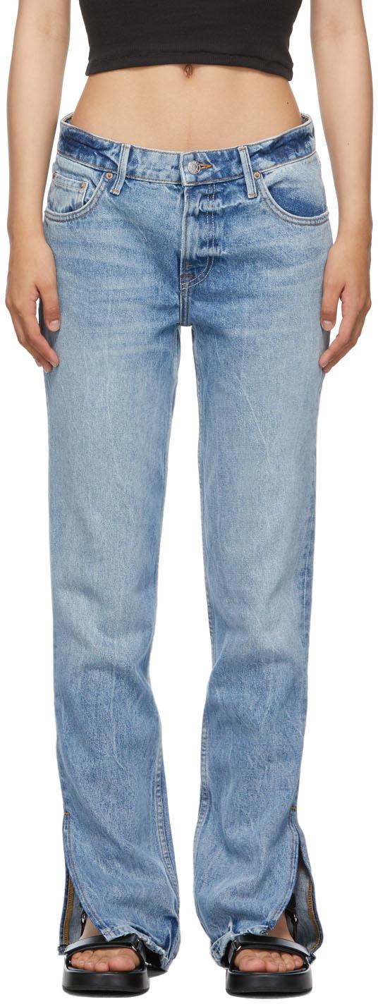 Blue Slim Hailey Bootcut Jeans
