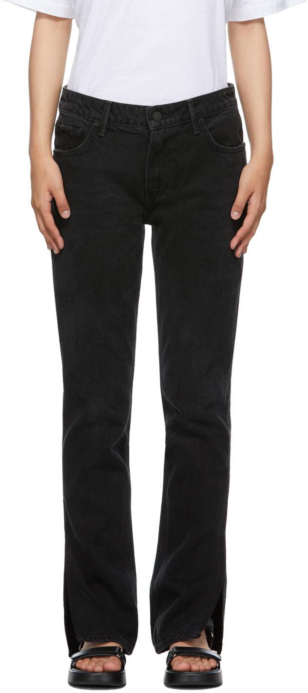 Black Slim Hailey Bootcut Jeans