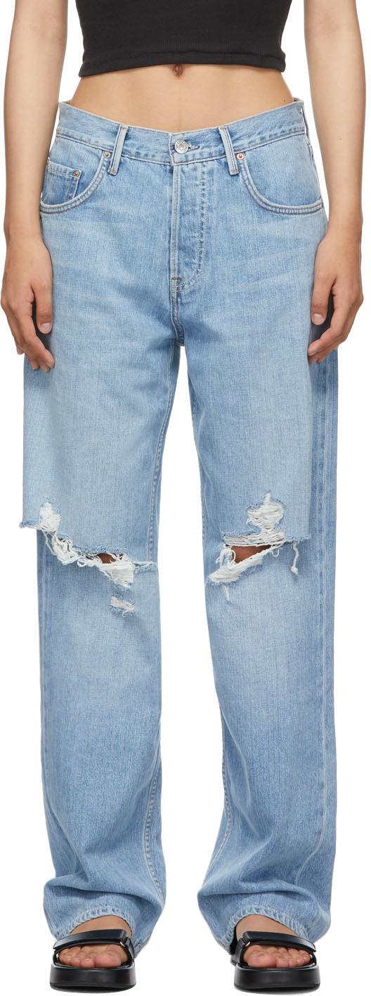 Blue Bella Low Rise Boyfriend Jeans