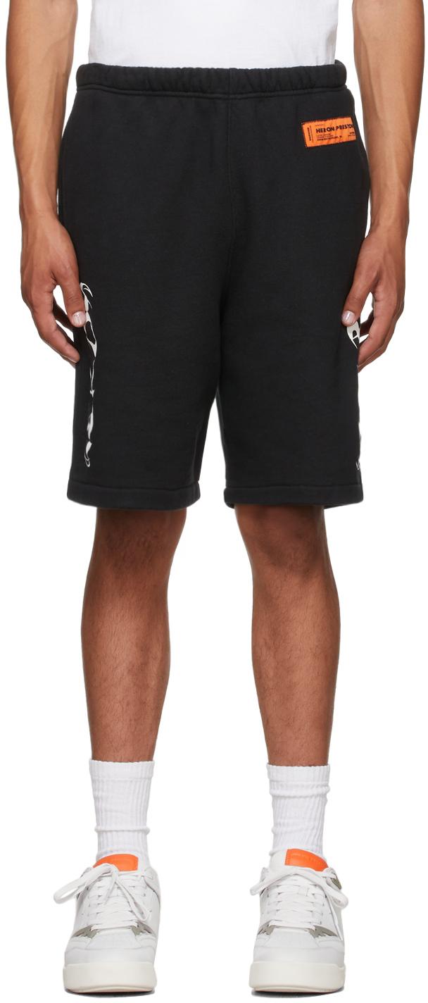 Black HP Brushed Shorts