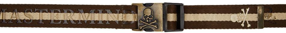 Brown & Beige Tape Belt