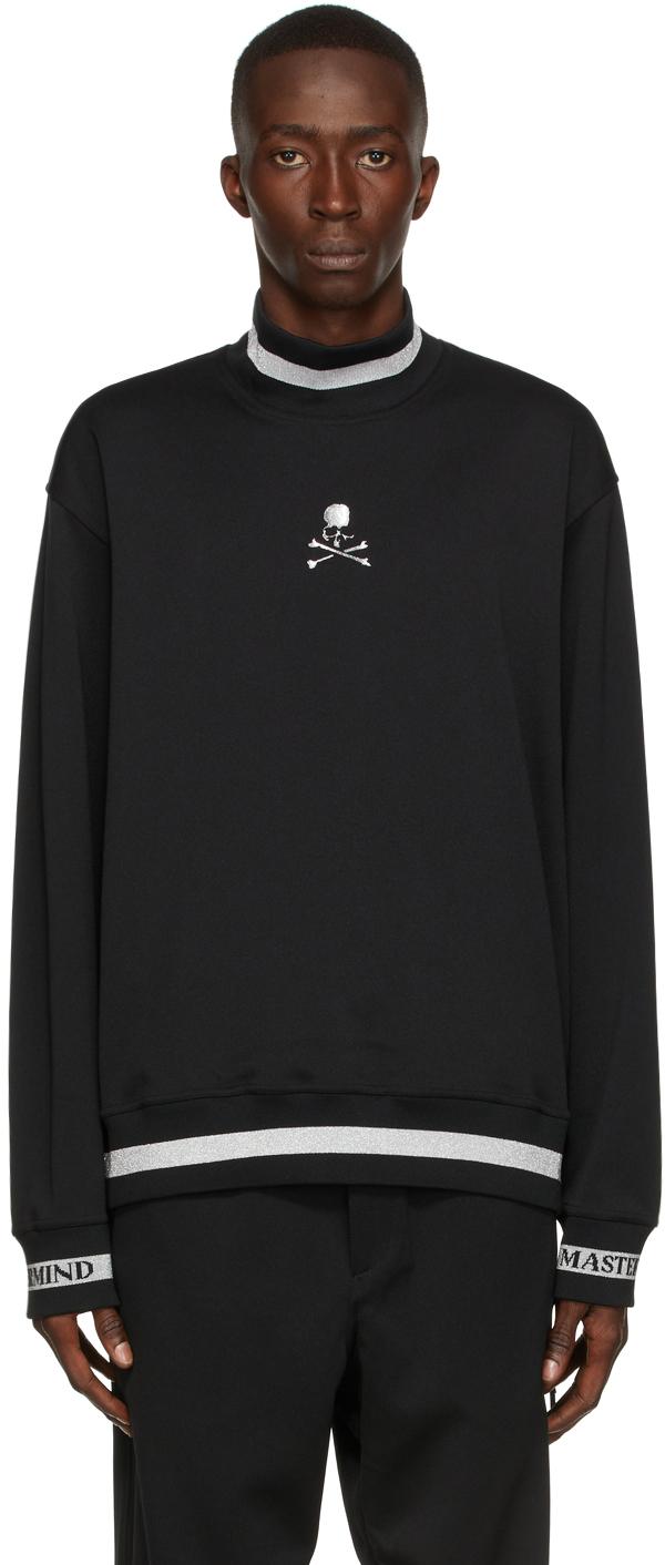 Black Colorribbed Turtleneck