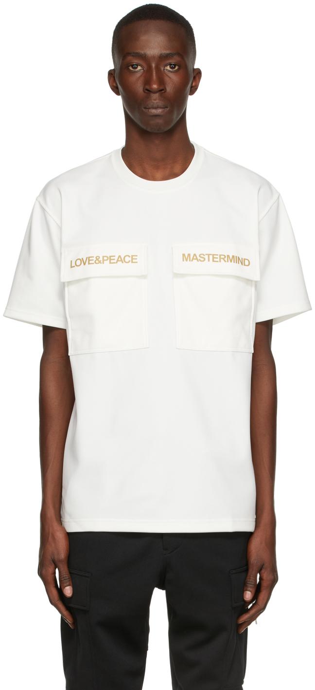 White 2 Pockets T-Shirt