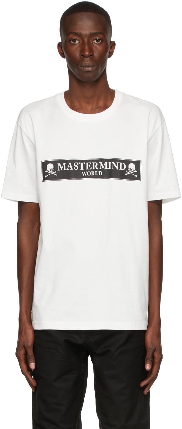 White Boxed Logo T-Shirt