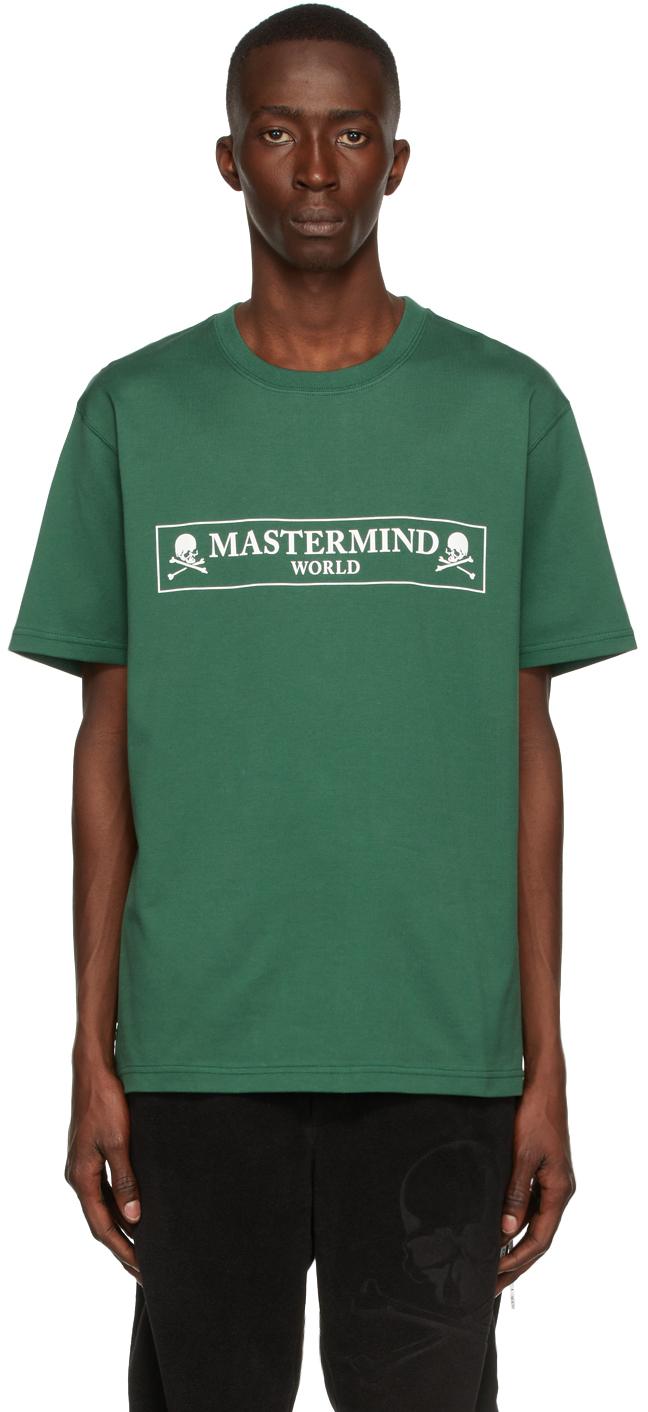 Green Boxed Logo T-Shirt