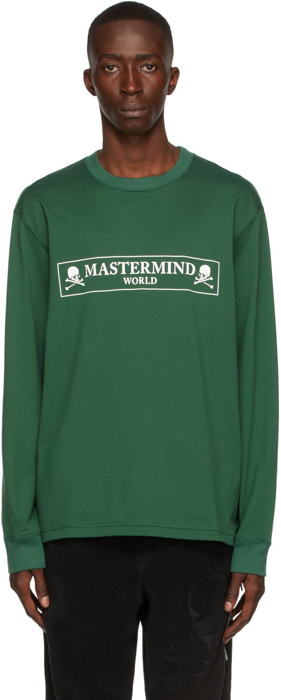 Green Box Logo Long Sleeve T-Shirt