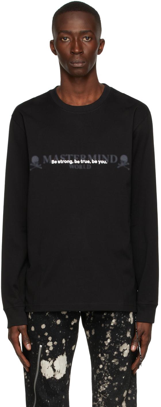 Black 'Be Strong' Long Sleeve T-Shirt