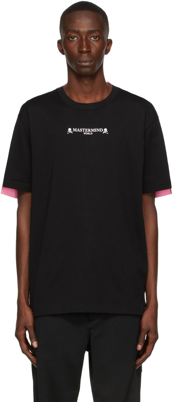 Black & Pink 2 Color T-Shirt