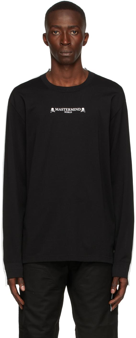 Black & White 2 Color Long Sleeve T-Shirt