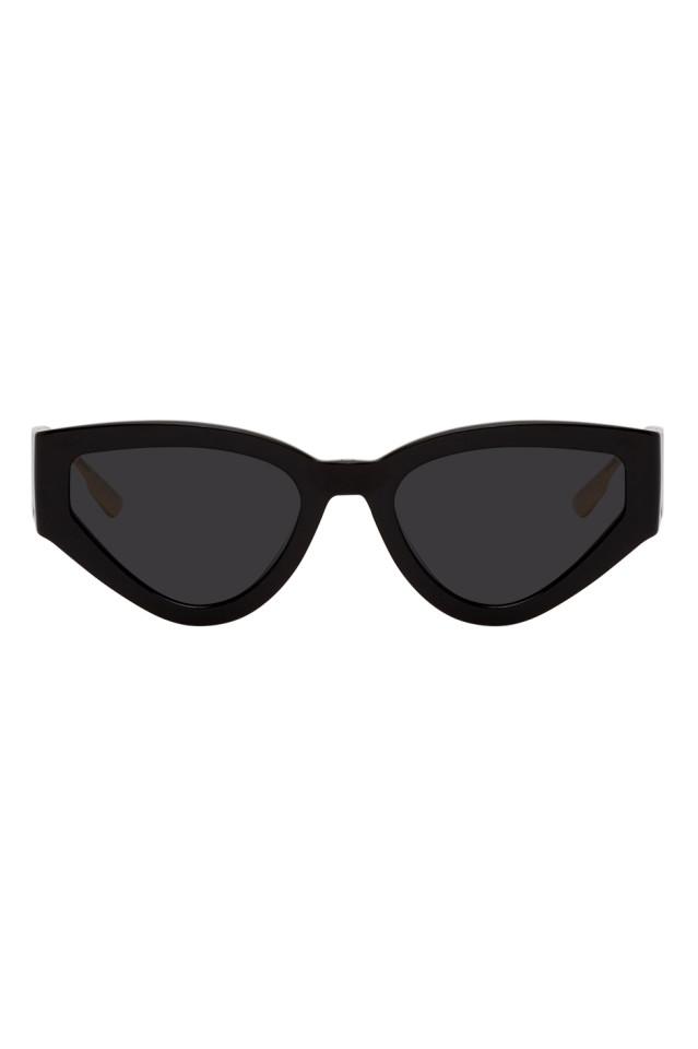 DIOR Black CatStyleDior1 Sunglasses