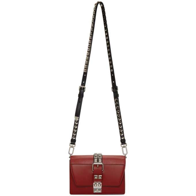 Red Small Elektra Bag by Prada