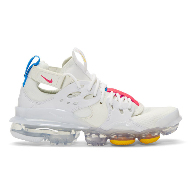 White & Red D/Ms/X Air Vapormax Dsvm Sneakers by Nike