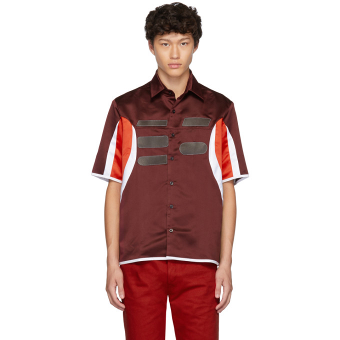 Burgundy Racing Shirt by Daniel W. Fletcher