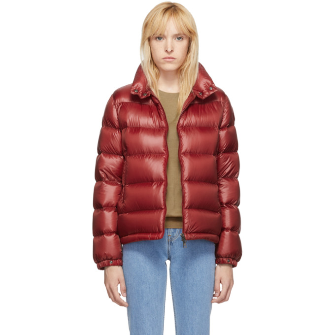 Red Down Copenhagen Jacket by Moncler