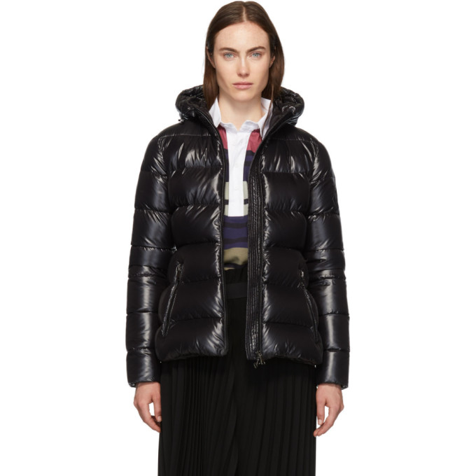 Black Down Rhin Jacket by Moncler