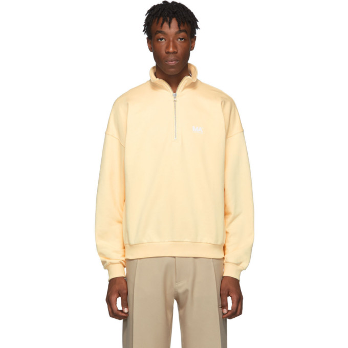 Yellow Jeremy Turtleneck Pullover by Martin Asbjorn