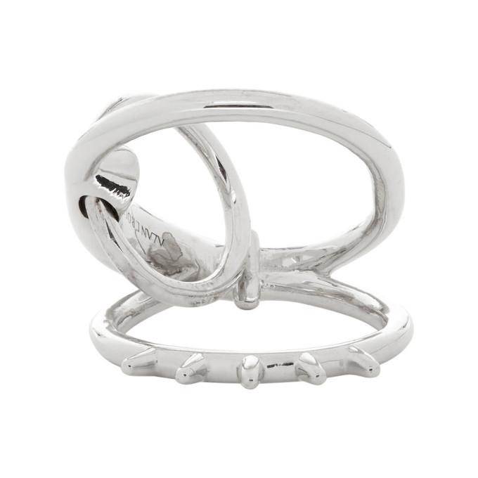 Silver Dita Spur Ring by Alan Crocetti