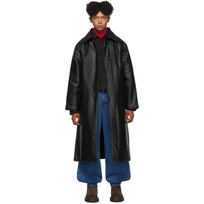 Black Big Coat by Keenkee
