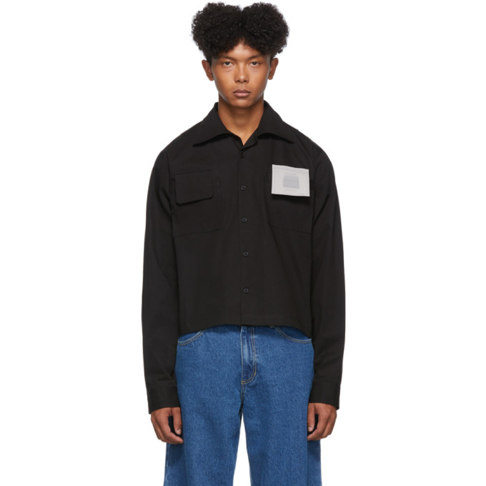 Black Yoke Shirt by Keenkee