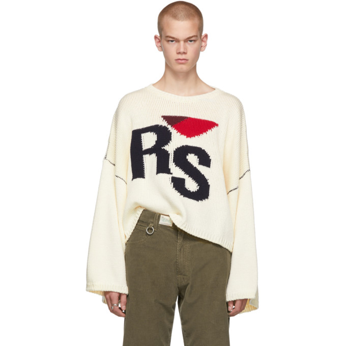 Off White 'rs' Sweater by Raf Simons