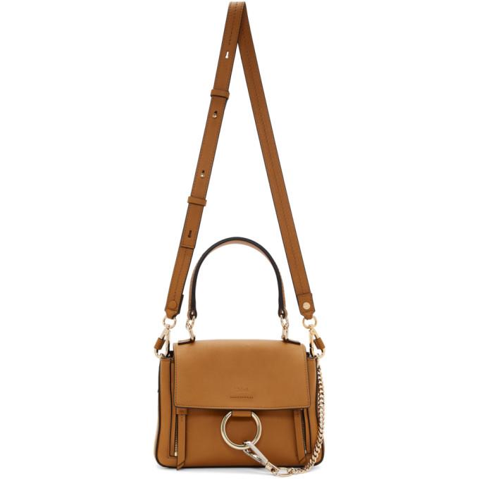 Brown Mini Faye Day Bag by ChloÉ