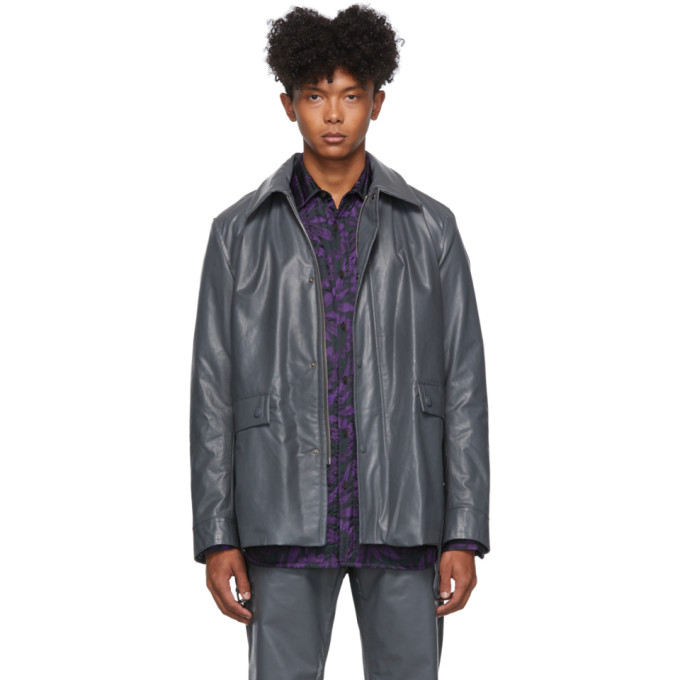 Grey Vencke Jacket by Dries Van Noten