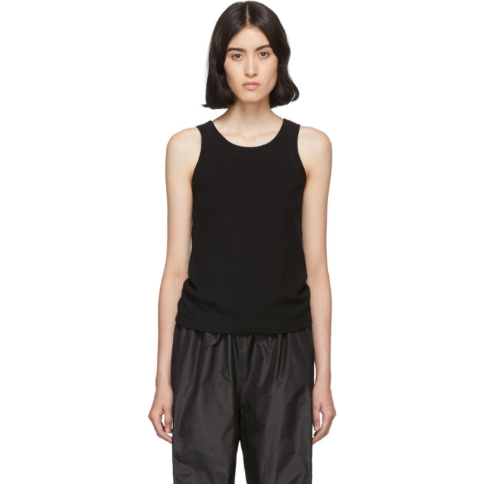 Black Firala Tank Top by The Row