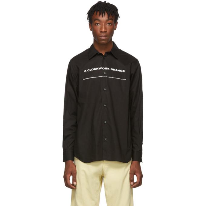 Black A Clockwork Orange Edition Print Shirt by Undercover