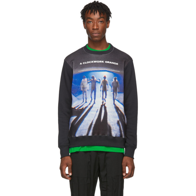Black A Clockwork Orange Edition Sweatshirt by Undercover