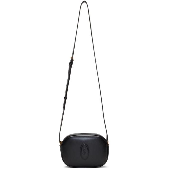 Black 'le 61' Camera Bag by Saint Laurent