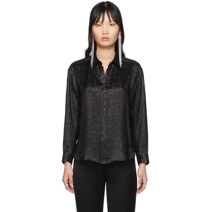 Black Silk Shirt by Saint Laurent