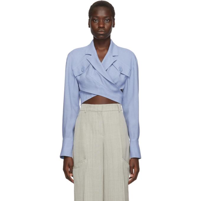 Blue 'le Haut Azur' Shirt by Jacquemus