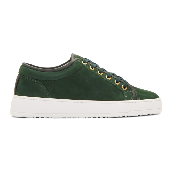 Green Lt 01 Waxed Sneakers by Etq Amsterdam