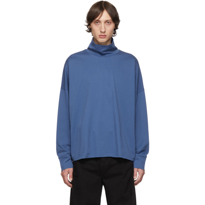Blue Area Turtleneck by Studio Nicholson