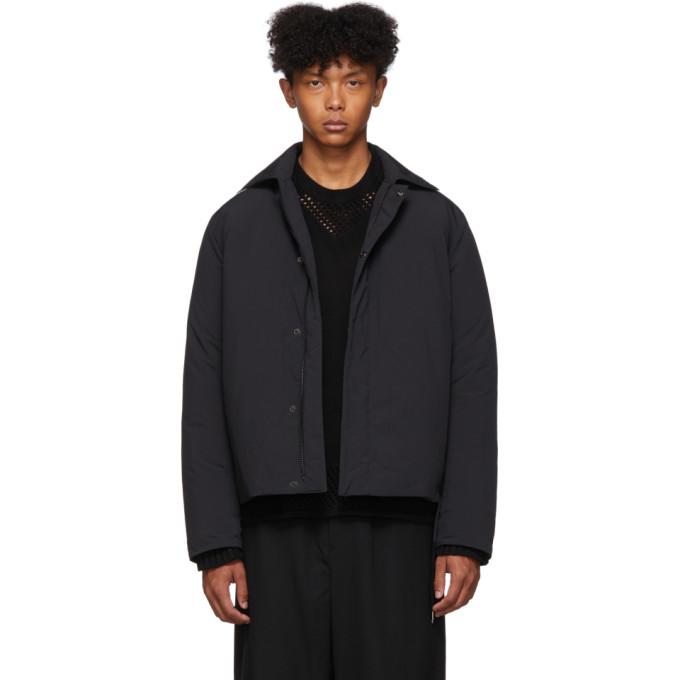 Black Down Worker Jacket by Craig Green