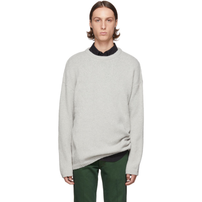 Blue Sonar Roundneck Sweater by Our Legacy