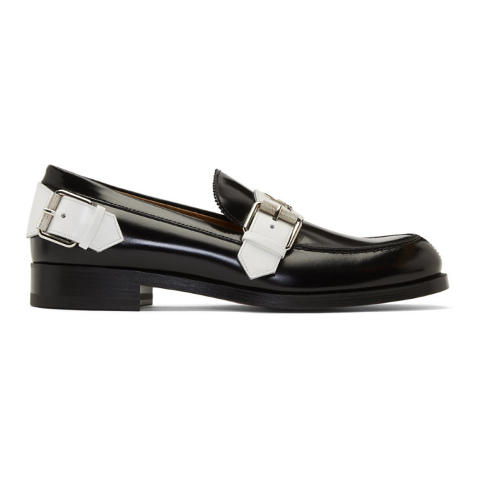 Black Monmoc Flat Loafers by Christian Louboutin