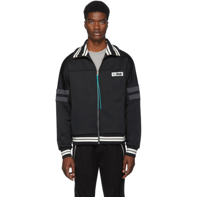 Black & White Puma Edition Xtg Track Jacket by Rhude