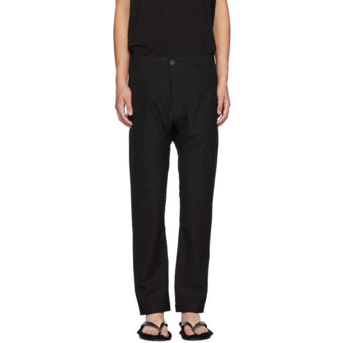 Black 49 Trousers by Jan Jan Van Essche