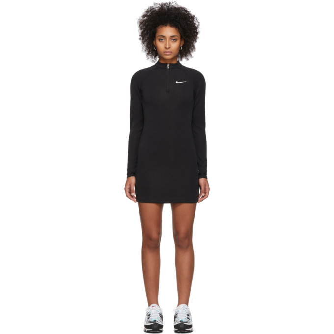 Black Nsw Long Sleeve Dress by Nike